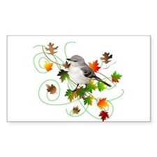 Mockingbird Rectangle Decal
