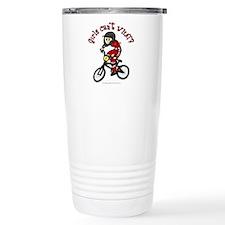 Light Red BMX Travel Mug