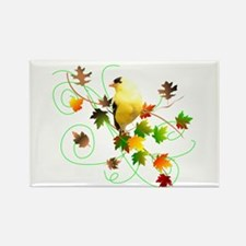 Goldfinch Rectangle Magnet (100 pack)