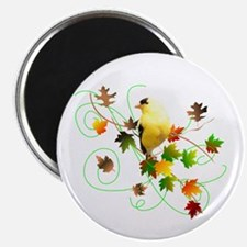 """Goldfinch 2.25"""" Magnet (100 pack)"""