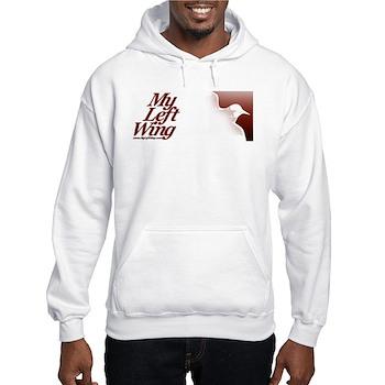 Hooded Sweatshirt, Rage Rage on back