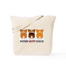 Mix Pembroke Butts Tote Bag