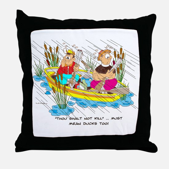 ... must mean ducks too. Throw Pillow