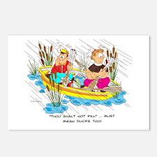 ... must mean ducks too. Postcards (Package of 8)