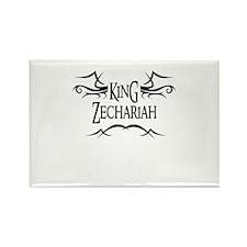 King Zechariah Rectangle Magnet