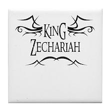 King Zechariah Tile Coaster