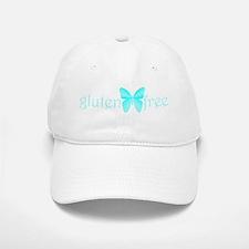 gluten-free butterfly (teal) Baseball Baseball Cap