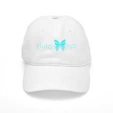 gluten-free butterfly (teal) Baseball Cap