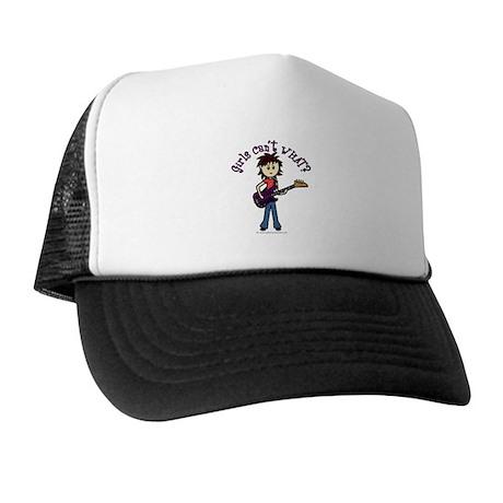 Light Bass Guitar Trucker Hat