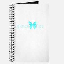 gluten-free butterfly (teal) Journal