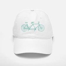 Tandem Bike Baseball Baseball Cap