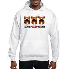 Tri Pembroke Butts Hoodie Sweatshirt