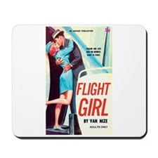 "Mousepad - ""Flight Girl"""