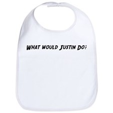 What would Justin do? Bib