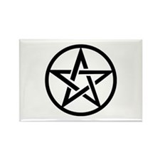 black gothic pentacle Rectangle Magnet (100 pack)