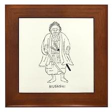 Musashi Miyamoto Framed Tile