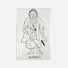 Musashi Miyamoto Rectangle Magnet