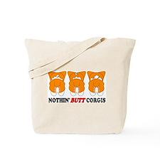 Sable Pembroke Butts Tote Bag