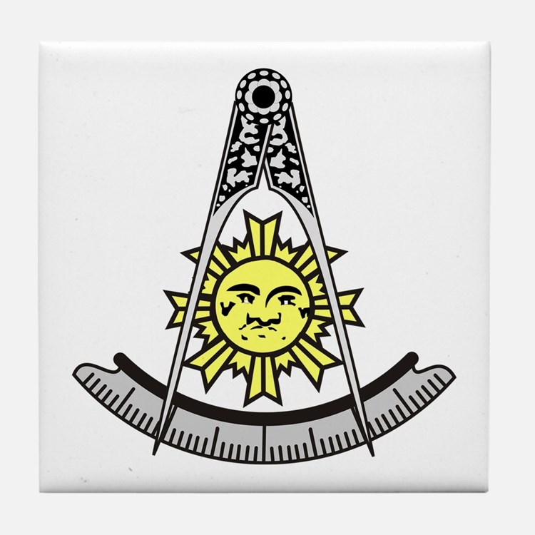 Past Master Tile Coaster