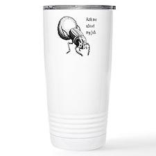 Dung Beetle Thermos Mug