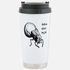 Dung Beetle Travel Mug