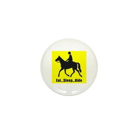 Eat sleep ride Mini Button (10 pack)