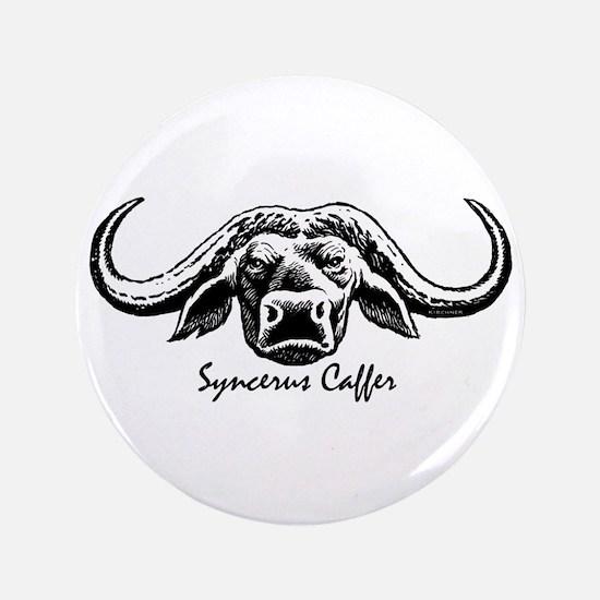 """Cape Buffalo 3.5"""" Button"""
