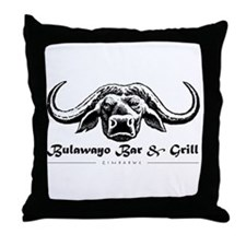 Bulawayo Bar & Grill Throw Pillow