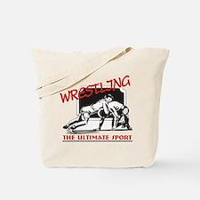 Wrestling Tote Bag