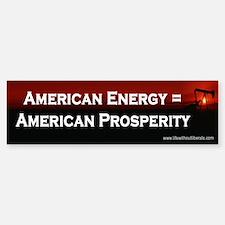 American Energy Bumper Bumper Bumper Sticker