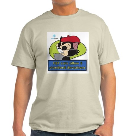 Scientific Blogging HEP Cats Light T-Shirt