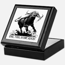 Unique Buffalo Keepsake Box