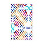 Infinity 8 Nights Rectangle Sticker