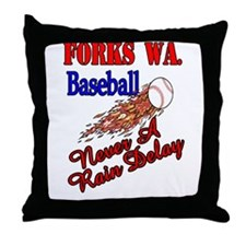 No Rain Delays Throw Pillow