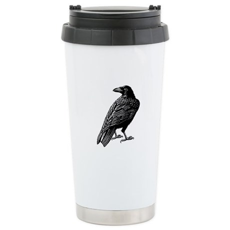 Raven Stainless Steel Travel Mug