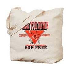 Unique Pro wrestling Tote Bag