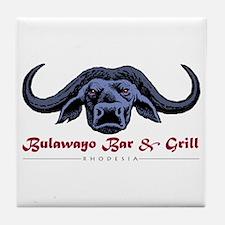Bulawayo Rhodesia Tile Coaster