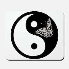 Butterfly Yin Yang Mousepad