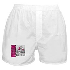 Wrestling Rocks Boxer Shorts