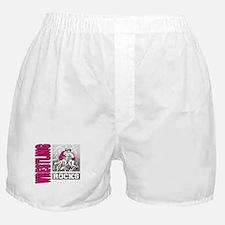 Wrestling Rocks Boxer Shorts