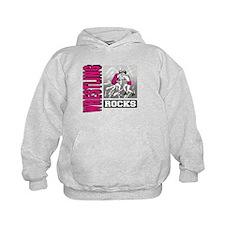 Wrestling Rocks Hoodie