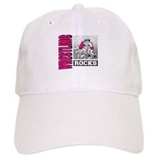 Wrestling Rocks Baseball Cap