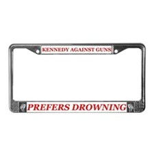 Kennedy kopechne License Plate Frame