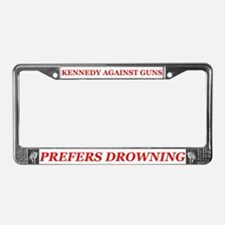 Cute Ted kennedy License Plate Frame