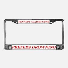 Cute Kopechne License Plate Frame