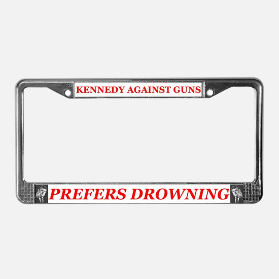 Unique Teddy kennedy License Plate Frame