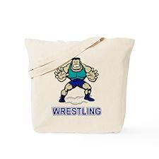 Funny Wrestling Tote Bag