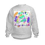 Dreidels Happy Chanukah Kids Sweatshirt