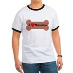 LOVE DALMATIONS (ON BONE) Ringer T