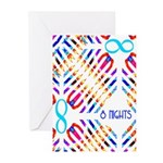 Infinity 8 Nights Greeting Cards (Pk of 10)